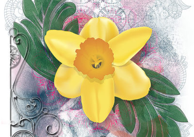 Daffodil Grunge